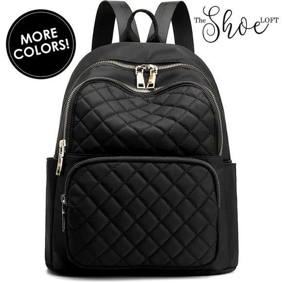 My Bag Lady Online Handbags - Quilted Luxury Adult Backpack